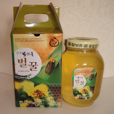 에덴농장 아카시아벌꿀2.4kg (1등급+)